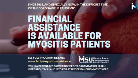 Financial Assistance Available for the Myositis Patient Community Impacted by COVID-19