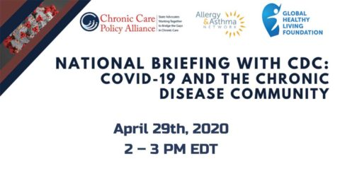 COVID-19 Briefing with Chronic Disease Community