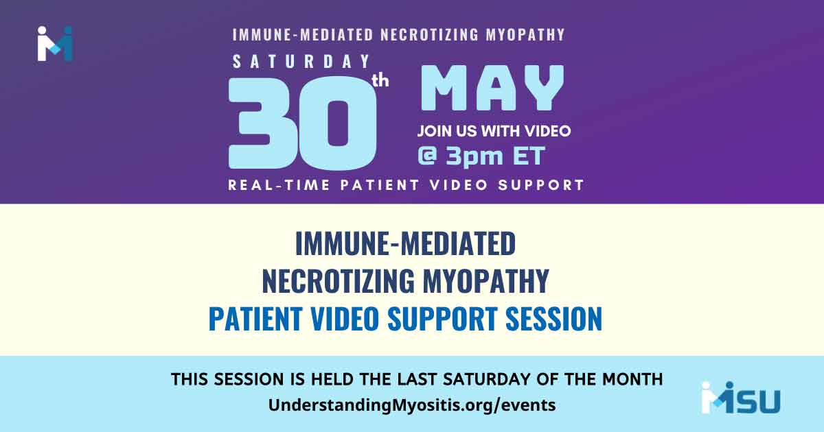 IMNM Patient Video Support Session