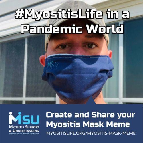 Myositis Mask Meme
