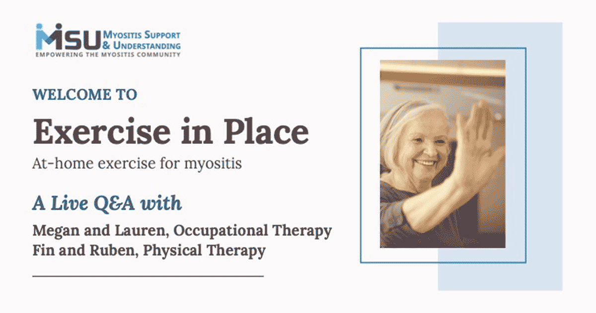 Exercise in Place Webinar