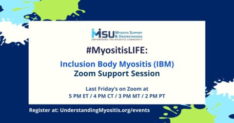Inclusion Body Myositis Video support group