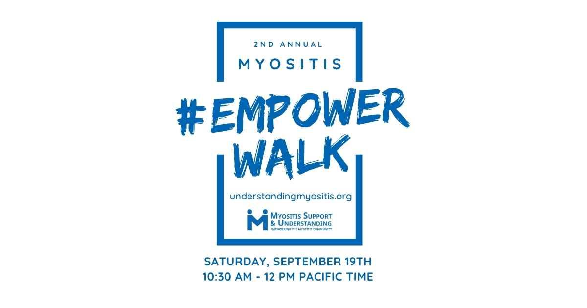 Myositis Empower Walk 2020