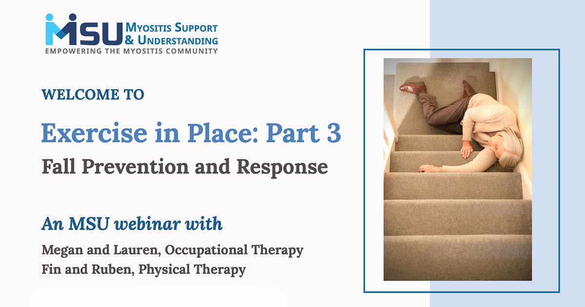 Exercise in Place: Part 3, Fall Prevention and Response
