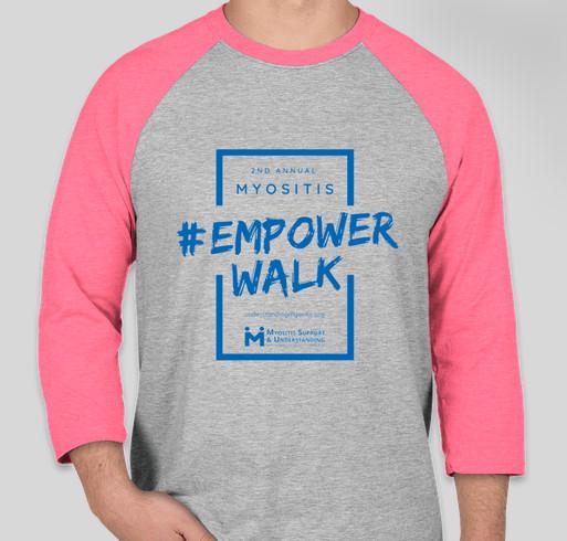 Myositis Empower Walk 2020 shirts