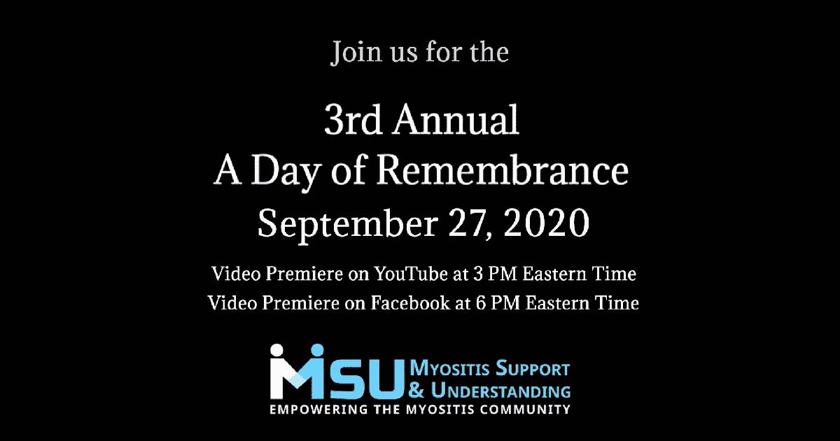 """3rd Annual """"A Day of Remembrance"""""""
