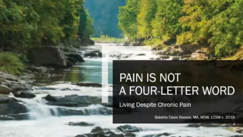 Pain Is Not a Four-Letter Word image