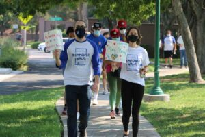 2nd Annual Myositis Empower Walk leading the walk image