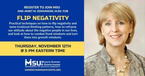 Flip Negativity with Janet M. Edmunson, M.Ed.