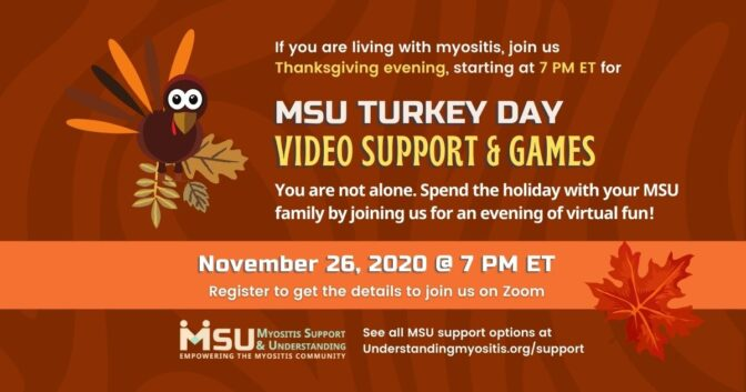 Turkey Day 2020 Video support and games session