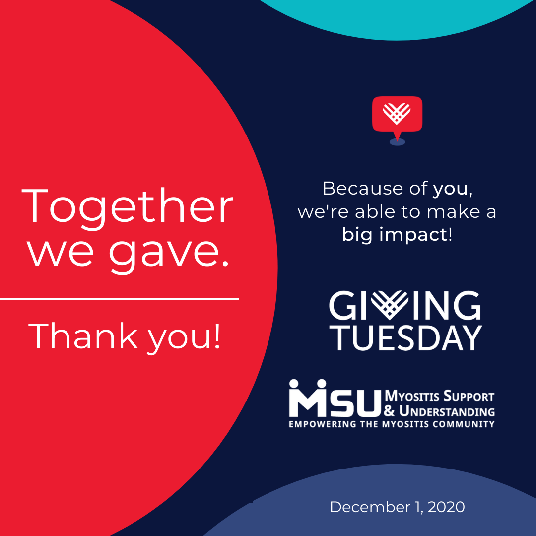 Thank you for Giving Tuesday