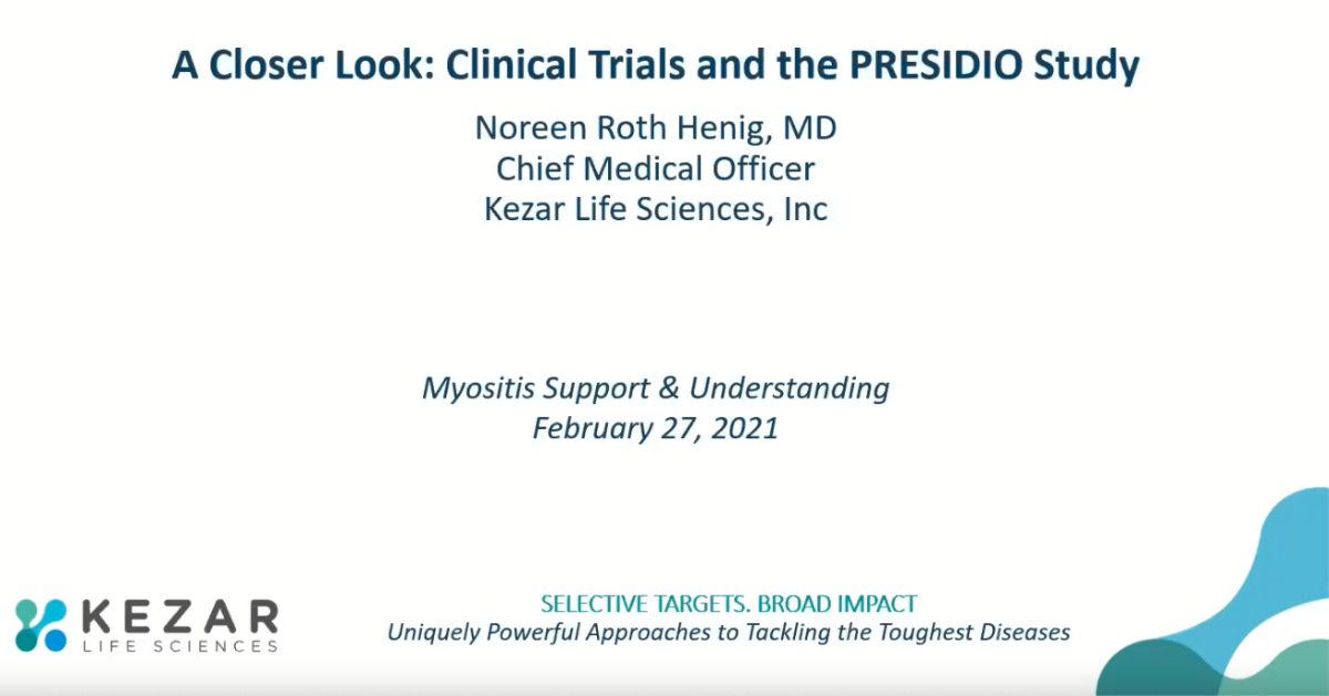 A Closer Look: Clinical Trials and the PRESIDIO Study