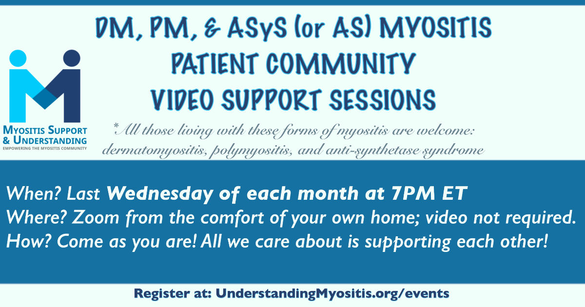 DM, PM, and ASyS Myositis Patient Video Support