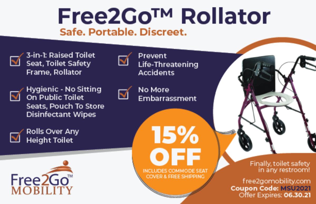 Free2Go Rollator myositis special