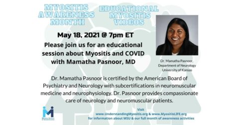 Myositis and COVID with Mamatha Pasnoor, M.D