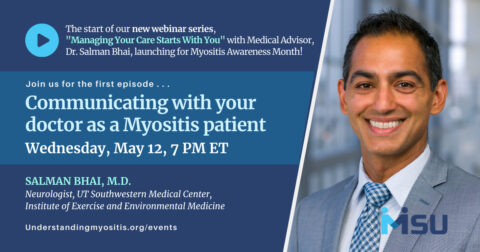 Communicating with your doctor as a Myositis patient