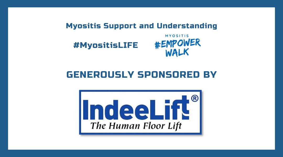 IndeeLift, MSU, #MyositisLIFE, and Myositis Empower Walk sponsor