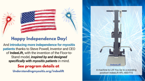 Greater Independence for the Myositis Community