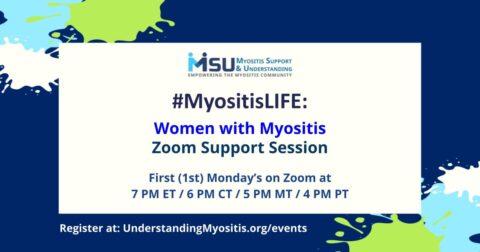#MyositisLIFE: Women with Myositis Video support
